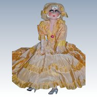 Rare pristine French boudoir doll