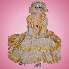 Rare pristine French boudoir doll