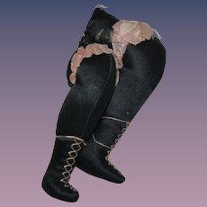 1920 Little boudoir doll's leg