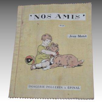 Fabric book for children circa 1920