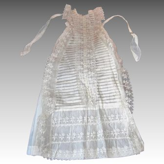 French victorian Christening Gown