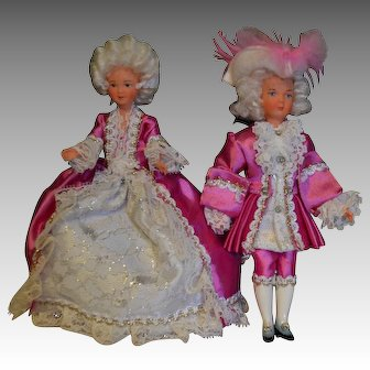1960 French souvenir dolls made by SNF