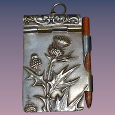 Charming miniature note book for your doll.