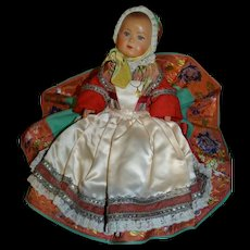 Vintage French Celluloid Baby Breton