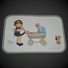 Rare catalog of manufacturer of  candy box for christening