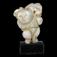 Rare chinese jade figure, Ming dynasty, ca. 17th. cent!