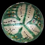 Large Islamic Ghaznavid pottery bowl, Bamiyan, 11th.-12th. c. AD