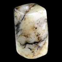 Antique Chinese jade Nephrite pendant in the shape of a bead!