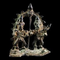 Very rare ancient India Hindu bronze Shine, 10th.-12th. century AD