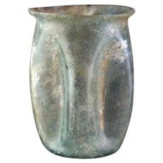 Rare large Roman Glass beaker, 1st.-3rd. century AD