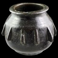 Early Spanish European bronze mortar, Moorish (Islamic) Spain, 14th.-15th. cent.