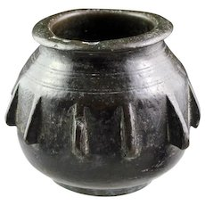 Early Spanish European bronze mortar, Moorish (Islamic) Spain, 14th.-15th. cent.