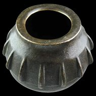 A large Hispano-Mooresque Bronze Mortar  from 16th. cent. Islamic Spain!