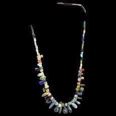 Superb Egyptian Carnelian necklace w pendants, 1st. millenium BC
