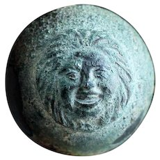 Fine Roman bronze 'Phalera' Disc Mount, 1st.-3rd. century AD