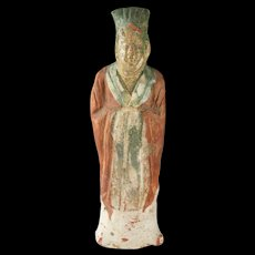 A beautiful ancient Chinese Sui Dynasty Tomb pottery figure!