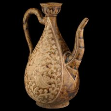 Stoneware ever from Thailand, Sukhothai kingdom, 14th-15th cent AD.