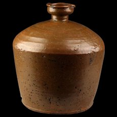 Large & Superb Thai Sawankhalok Earthenware water Vessel, 15th-16th