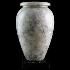 An exceptional large Egyptian stone Vase Pre-Dynastic ca. 3200 BC