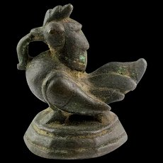 Heavy Brahmani Duck Opium Weight, Burmese, 20 Tical, 1500-1560