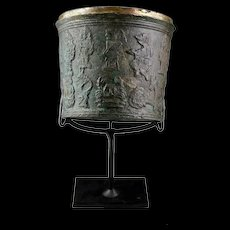 Indonesian Java, Majahapit Zodiac bronze vessel, 14th. cent. AD