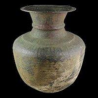 Massive Byzantine bronze vessel, 6th-7th. cent.