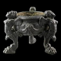 High quality Italian Renaissance bronze Inkwell, ca. 1500-1540 AD