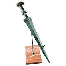 Superb quality Talish-Mugan culture bronze sword, ca. 1000 BC