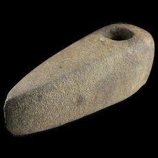 Massive Danish Neolithic greystone shafthole axe, 3rd. mill. BC