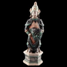 High Quality Ming Dynasty pottery figure of a Warrior - 39 cm!