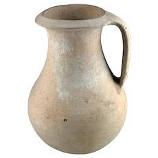 Huge and intact Roman ceramic Jug, later 3rd. century AD!