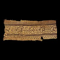 Late Roman / Byzantine textile w. Zoomorphic animals, 4th.-6th. cent.