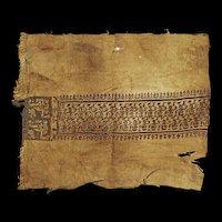 Important Coptic textile Tunic, Late Roman-Byzantine, 5th.-6th. cent