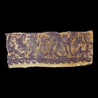 Extra fine Greek-Roman style Coptic Egypt Tunic fragment, 3rd.-4th cent. BC