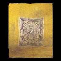 High quality Tunic Tabula  textile insertion, Roman 4th.-6th. cent.  AD.