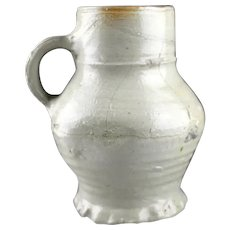 Large Medieval stoneware jug, Germany Siegburg, 15th. cent.