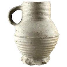 Choice Medieval stoneware jug, Germany Siegburg, 14th.cent.