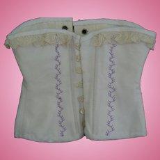 Vintage doll corset