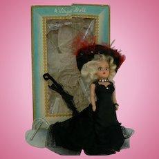 Vintage Virga Mae West Hard Plastic doll all original with Box and HTF.