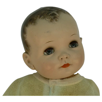 Vintage Ideal Baby Coos or Brother Coos doll Largest size 27 inches tall.
