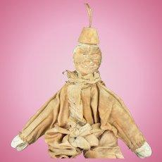 Vintage Old Schoenhut Clown doll Parts or restore.