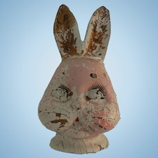 Rare Harrison Cady Burgess Peter Rabbit Doll Head TLC