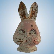 Rare Harrison Cady Burgess Peter Rabbit Doll Head TLC