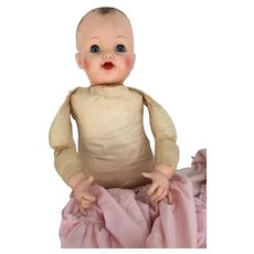 Hard to find Effanbee Baby doll with Original outfit. 1950's