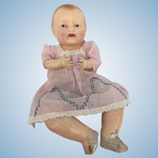 Effanbee Bubbles doll type 1920's original dress n cute