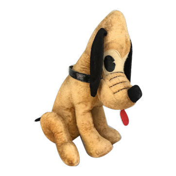 Vintage Pluto dog Mickey Mouse by Character Novelty Co.