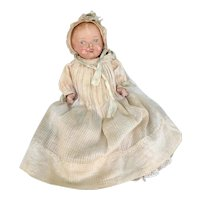 Early Horsman Composition Baby doll Original clothing great for another doll.