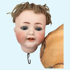 K*R Simon & Halbig 126 Baby doll Bisque Head OLD