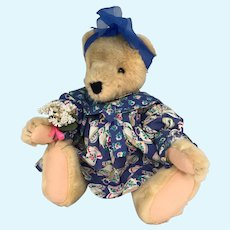 Alice Vanderbear #4314/4315 The Teacup Collection Bear