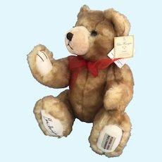 Chris Herrington Teddy Bear LTD. # and signed